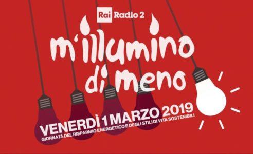 M'ILLUMINO DI MENO 2019