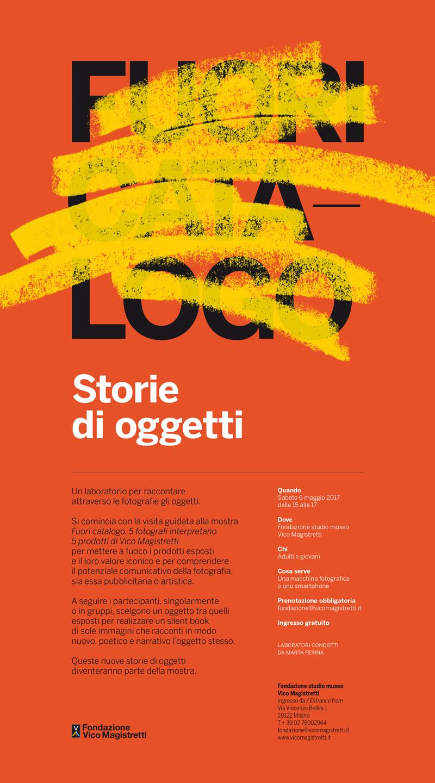 """Il silent book """"Design… ora te lo spiego!"""" alla mostra """"Fuori Catalogo"""" della Fondazione Studio Museo Vico Magistretti"""