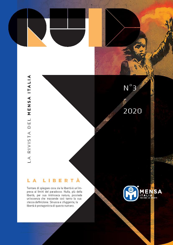 """""""LA FORMULA DELLA LIBERTÀ"""" (articolo su Quid – numero 3 – Luglio 2020)"""